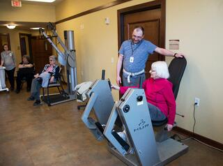 Senior Fitness Center Opportunities at Walker Methodist