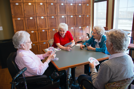Caption: Walker Methodist Residents