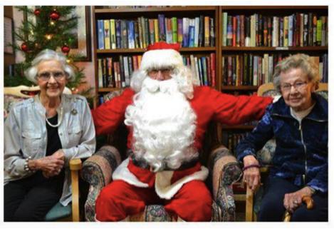 Senior Living Makes Holidays Easier