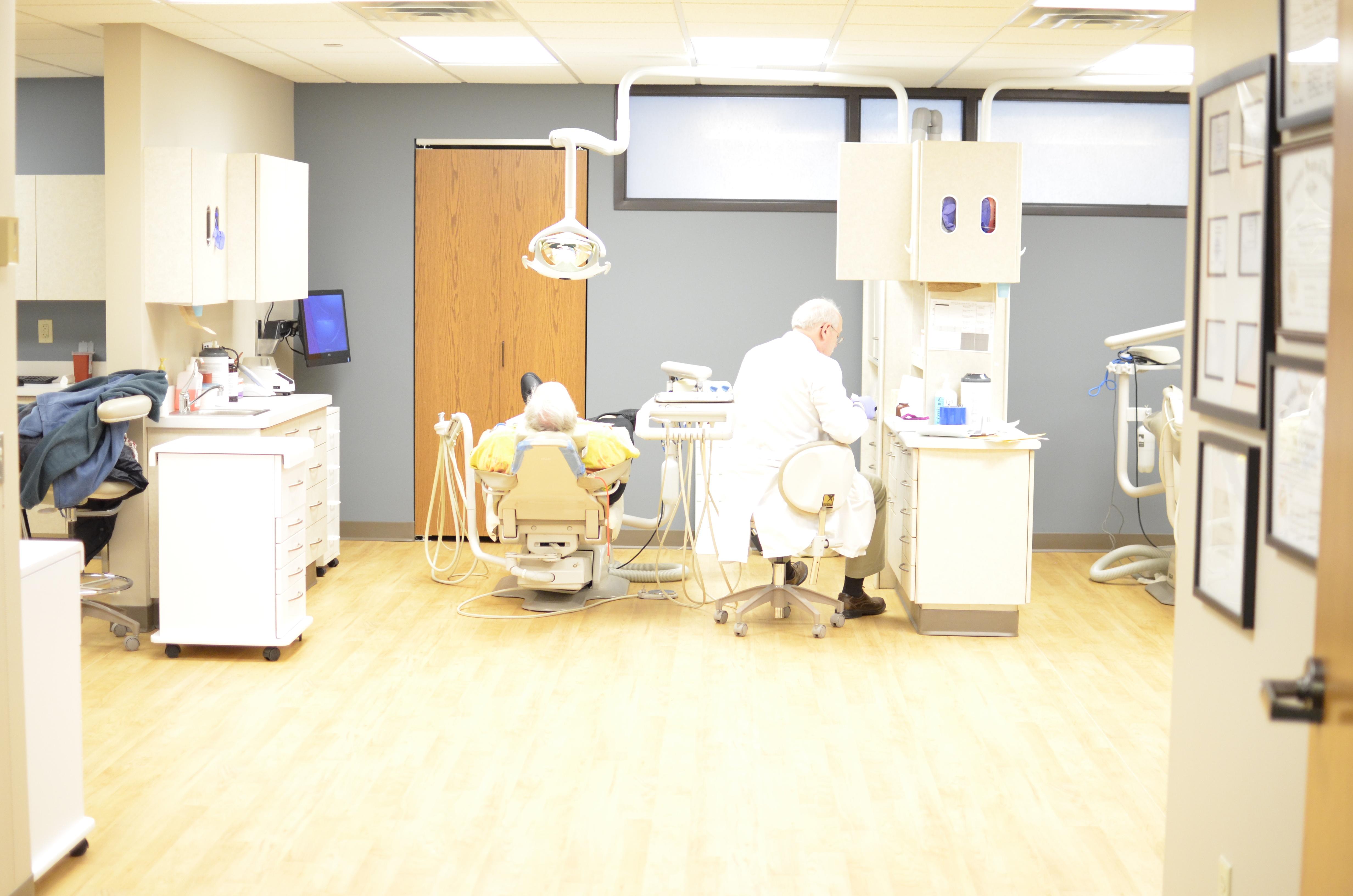 Caption: Walker Methodist Dental Clinic
