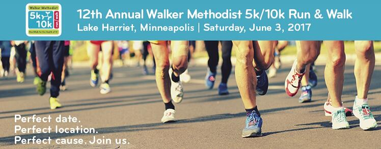 JOIN US: 5K/10K ON JUNE 3RD! WALKER METHODIST minneapolis