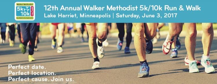 JOIN US: 5K/10K ON JUNE 3RD! WALKER METHODIST minneapolis