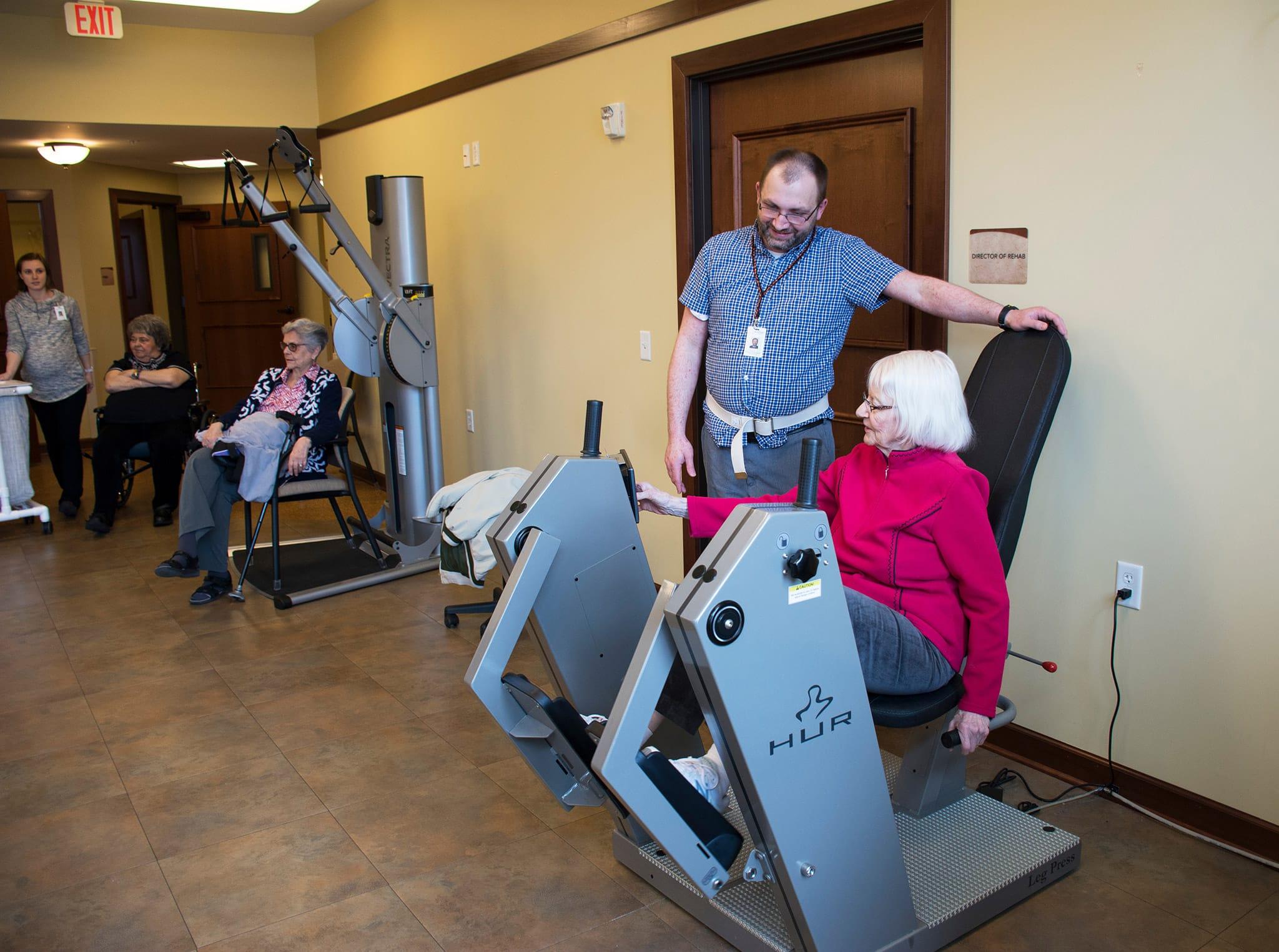 Senior Fitness Center Opportunities at Walker Methodist