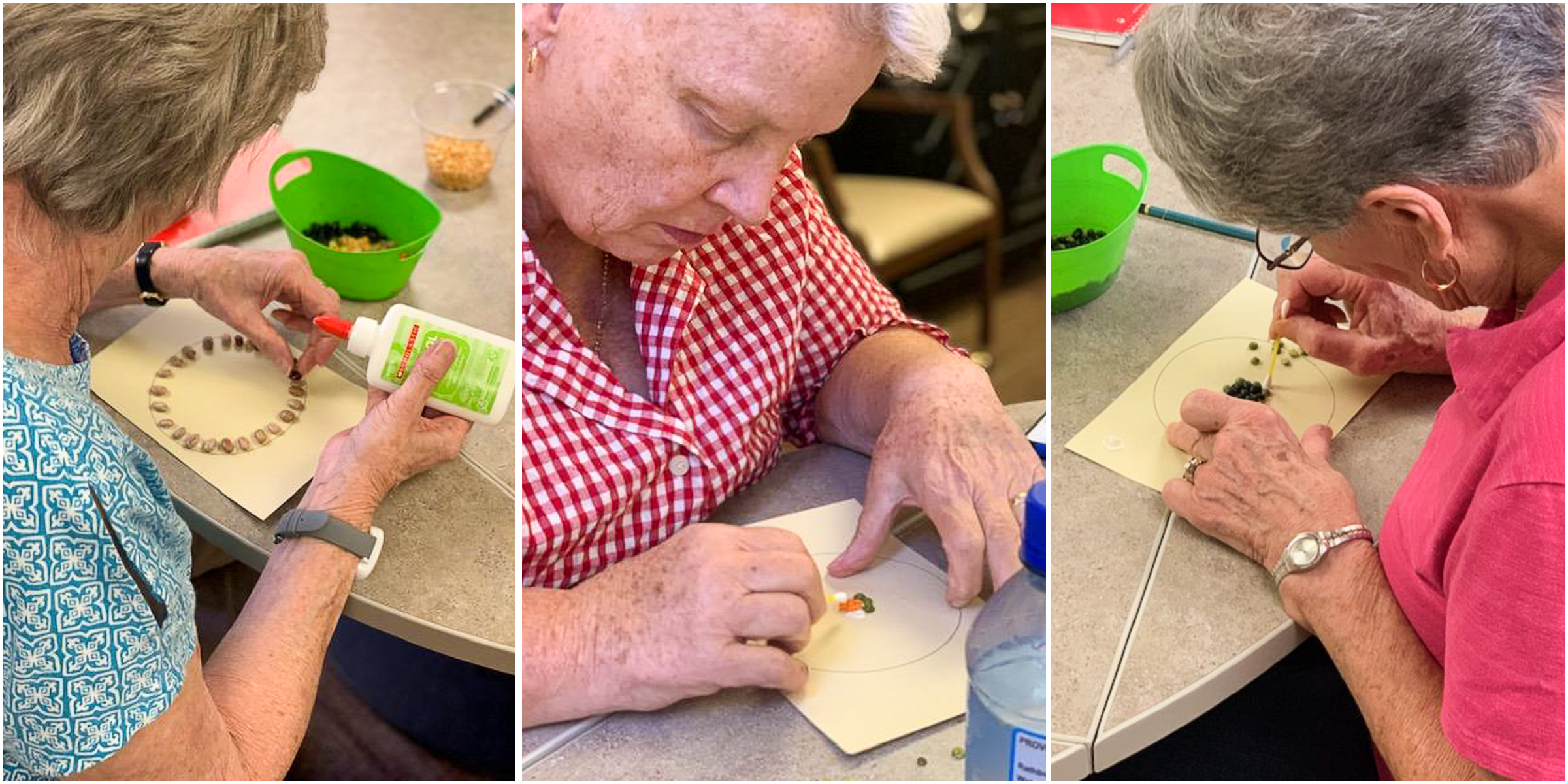Westwood Ridge residents unleash creativity in Caponi art classes