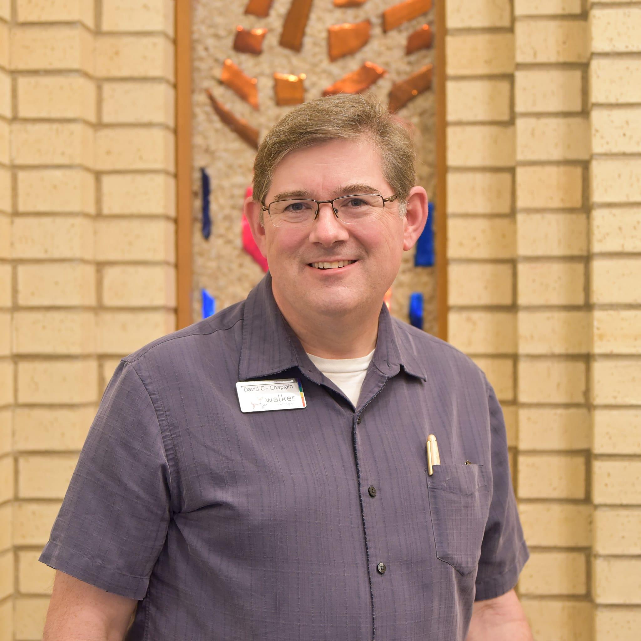 Rev. David Cobb, chaplain