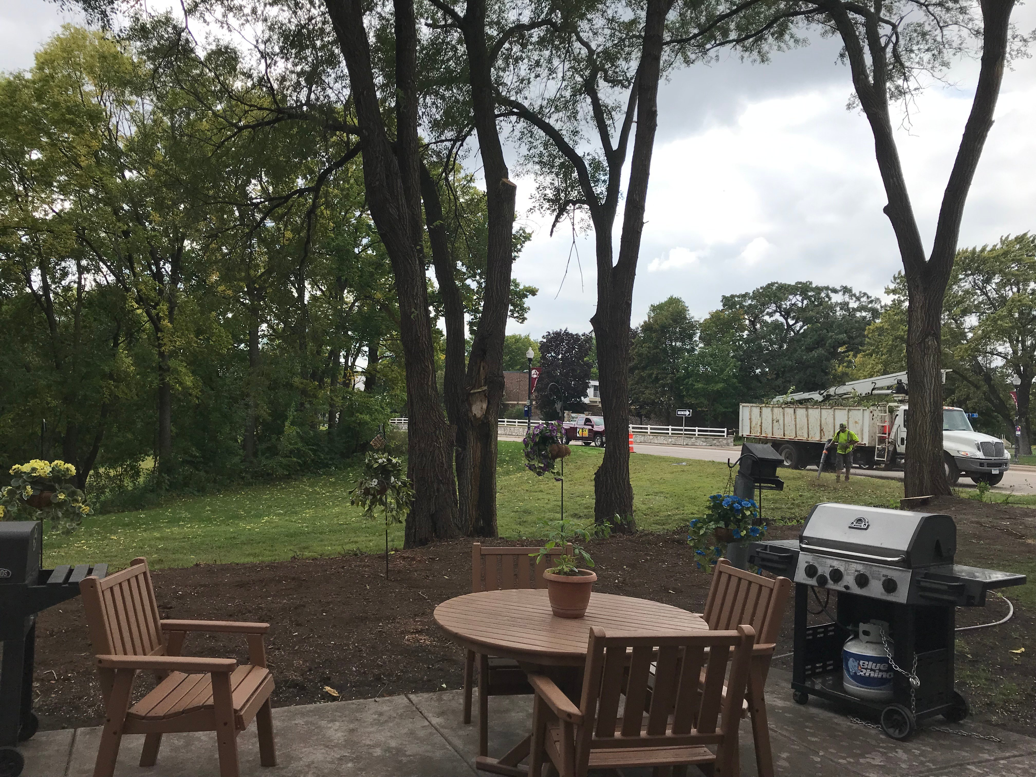 Residents lead the community's beautification project