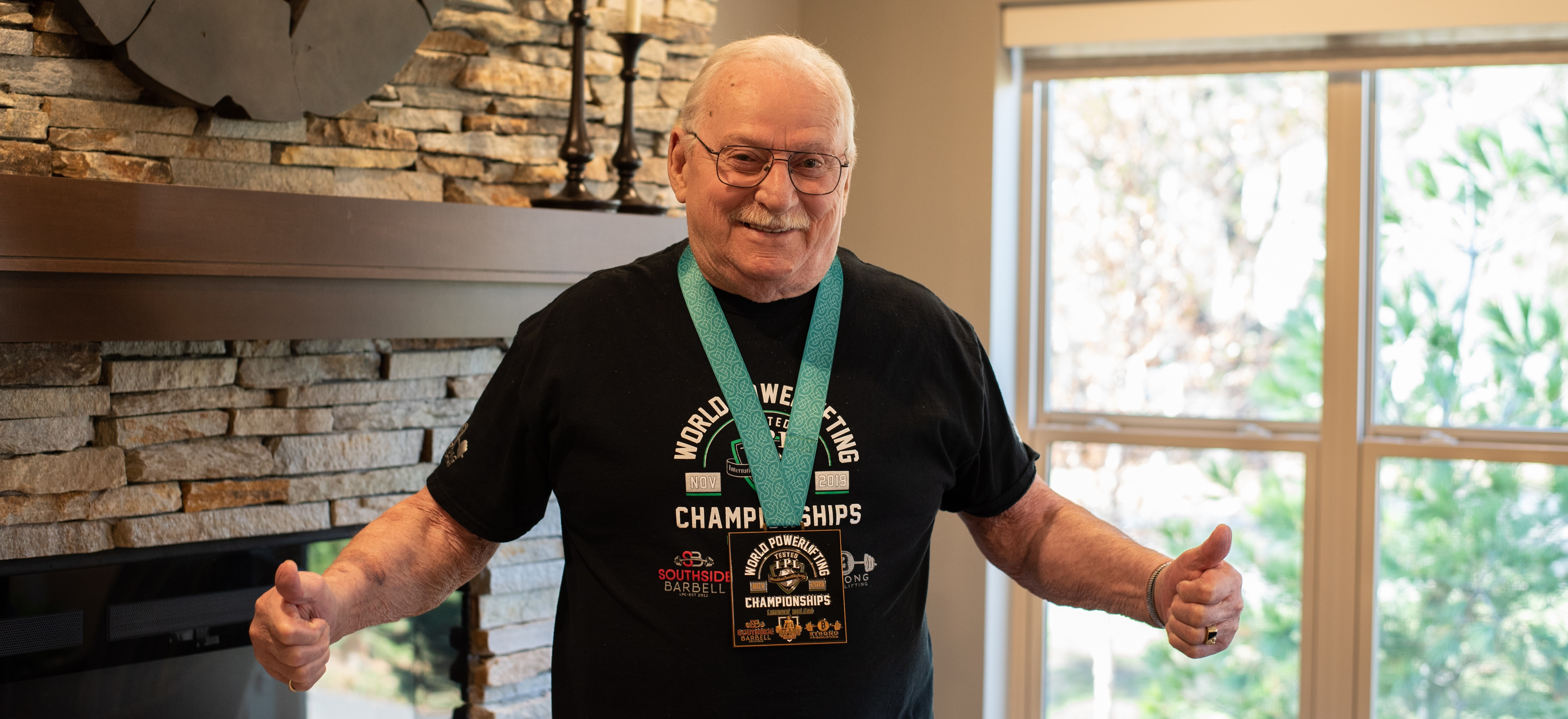 Weights and world records: Meet 88-year-old powerlifter Ted Lindberg