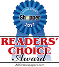 2017 Anoka County Shopper Readers Choice Award
