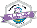 2018 Senior Living Award