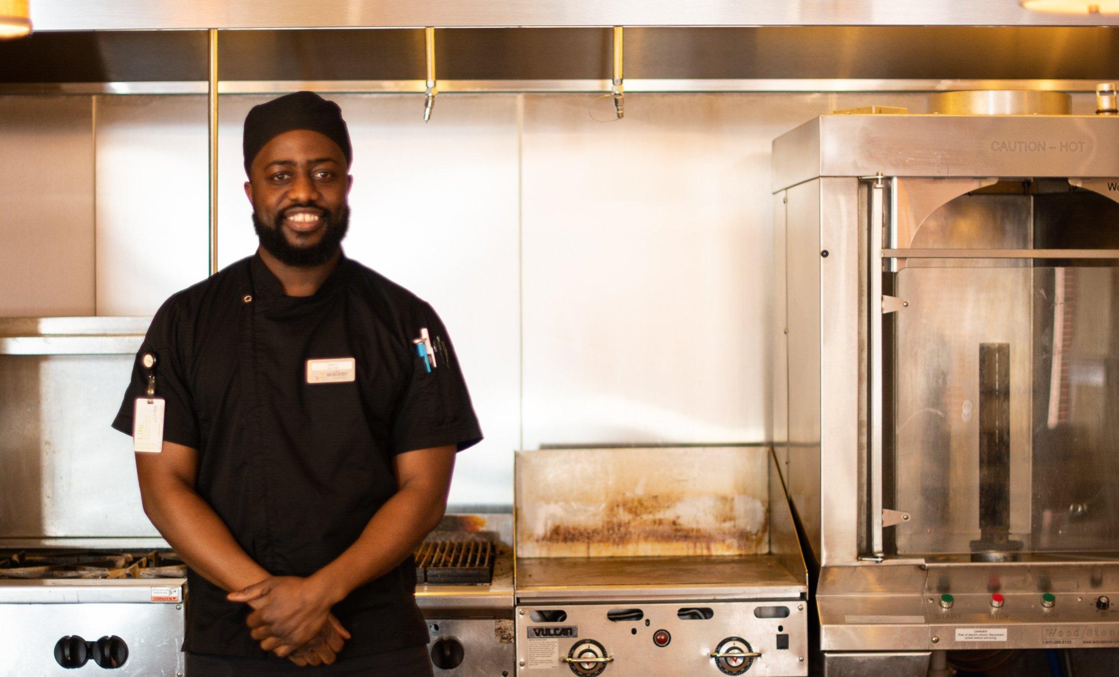 Giving back and growing: Sous chef David Saidu