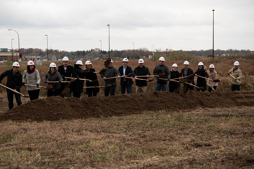 Havenwood of Maple Grove broke ground