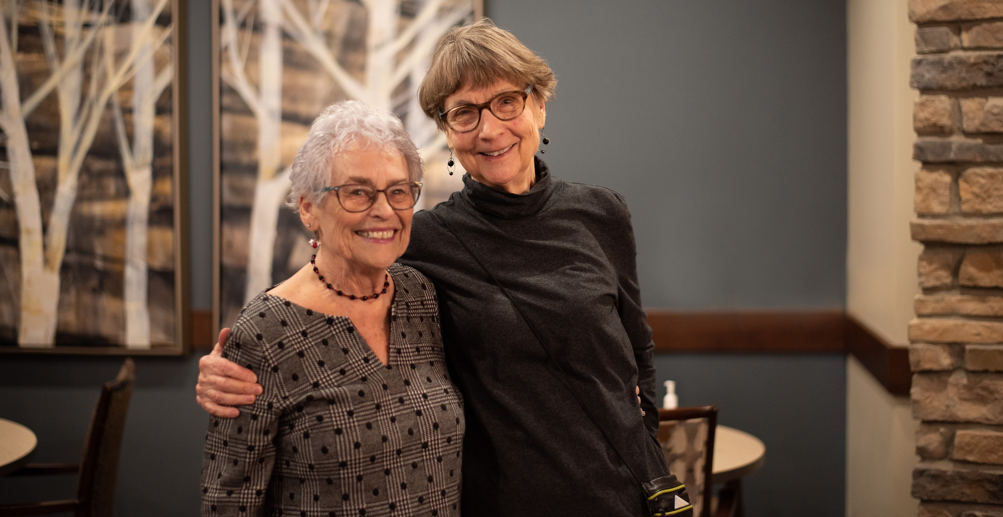 Nursing school neighbors: Jo and Evelyn reflect on years of life and work, offering advice