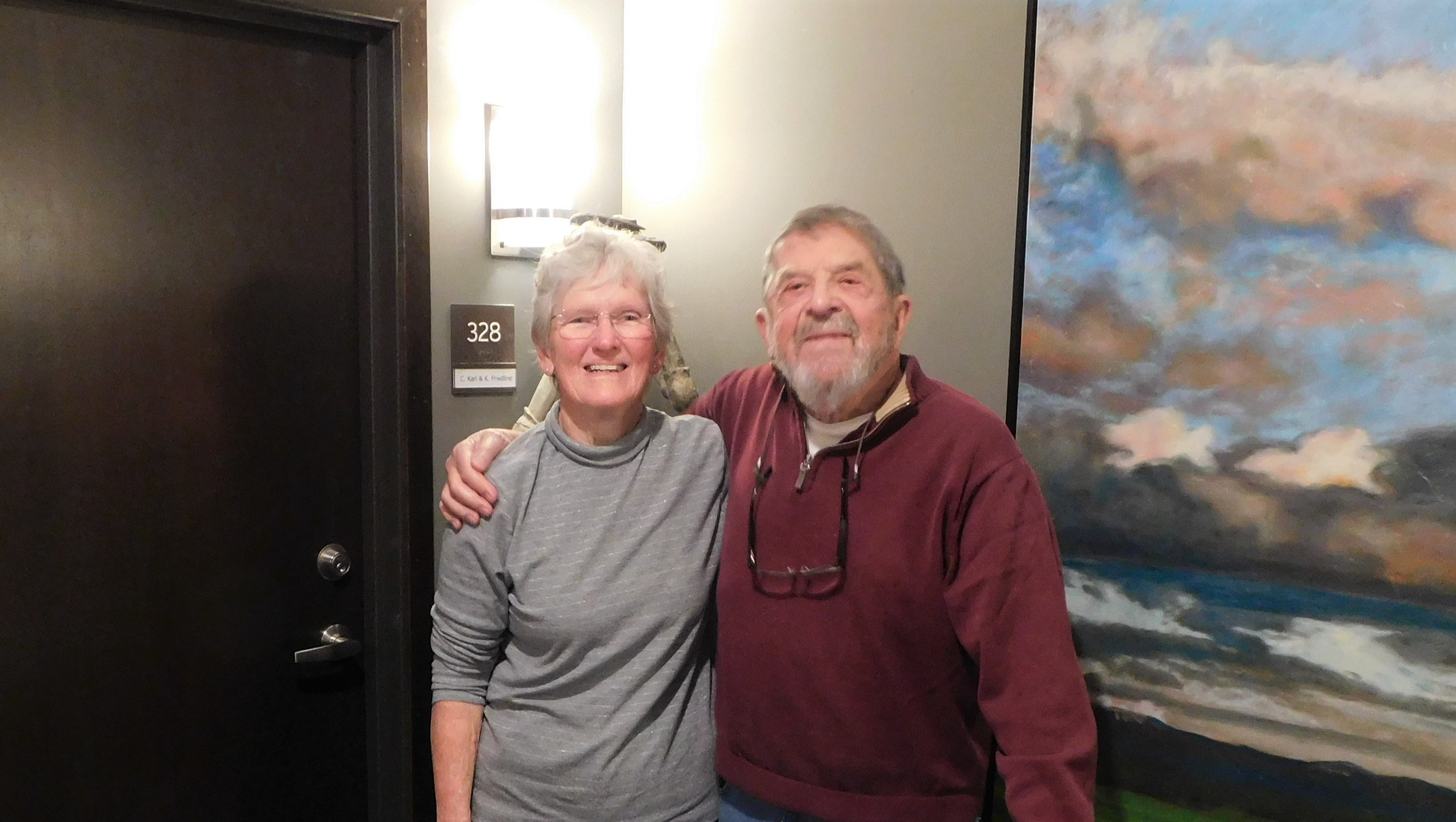 From New Zealand to Onalaska: Carolyn and Karl's story