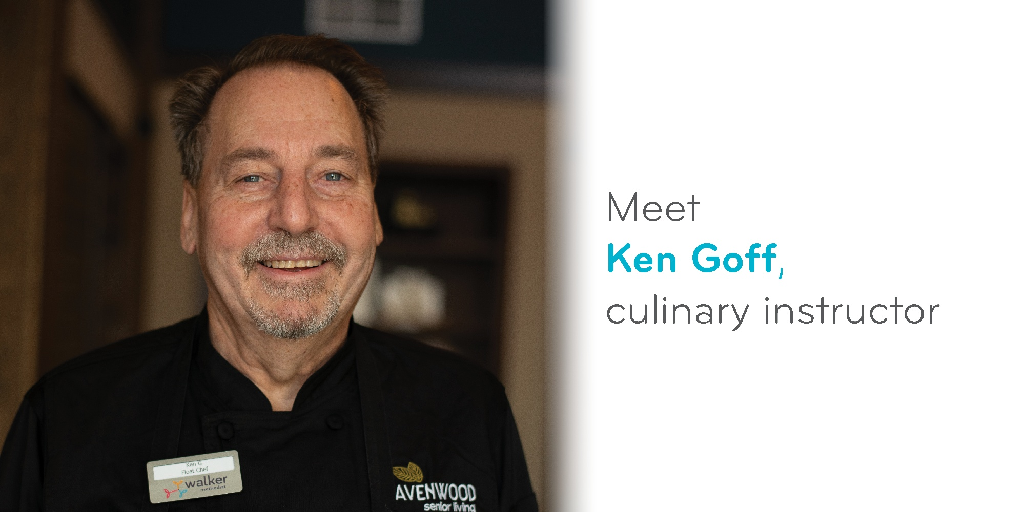 Meet Ken Goff, culinary instructor