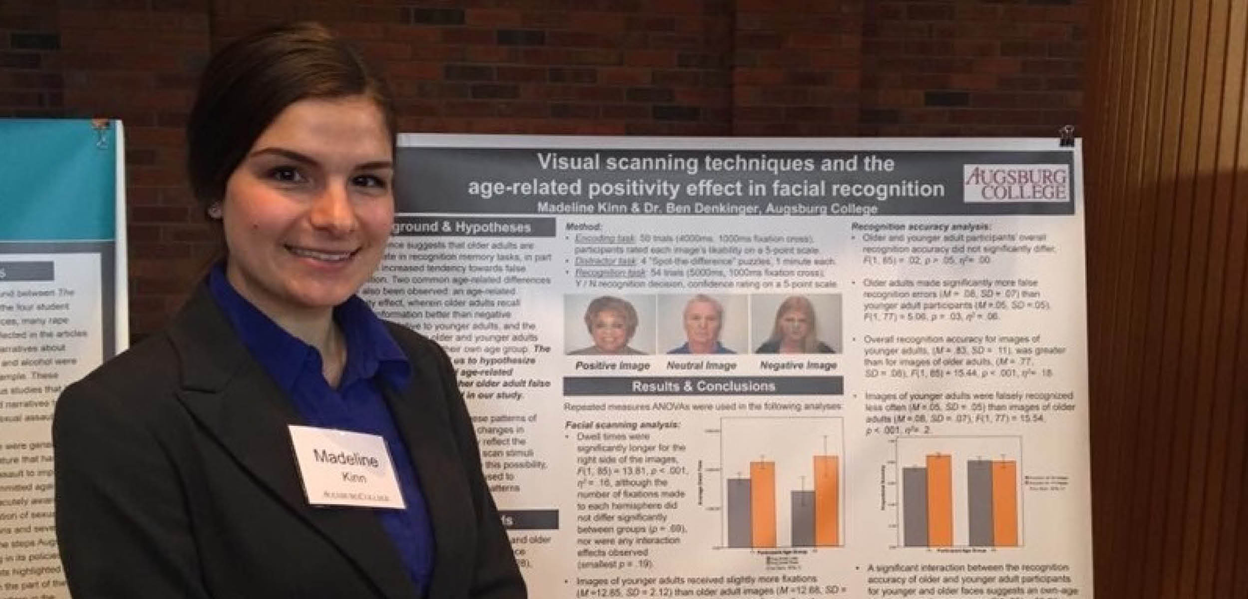 Is there a connection between aging and facial recognition? Plaza employee explains link found in her research