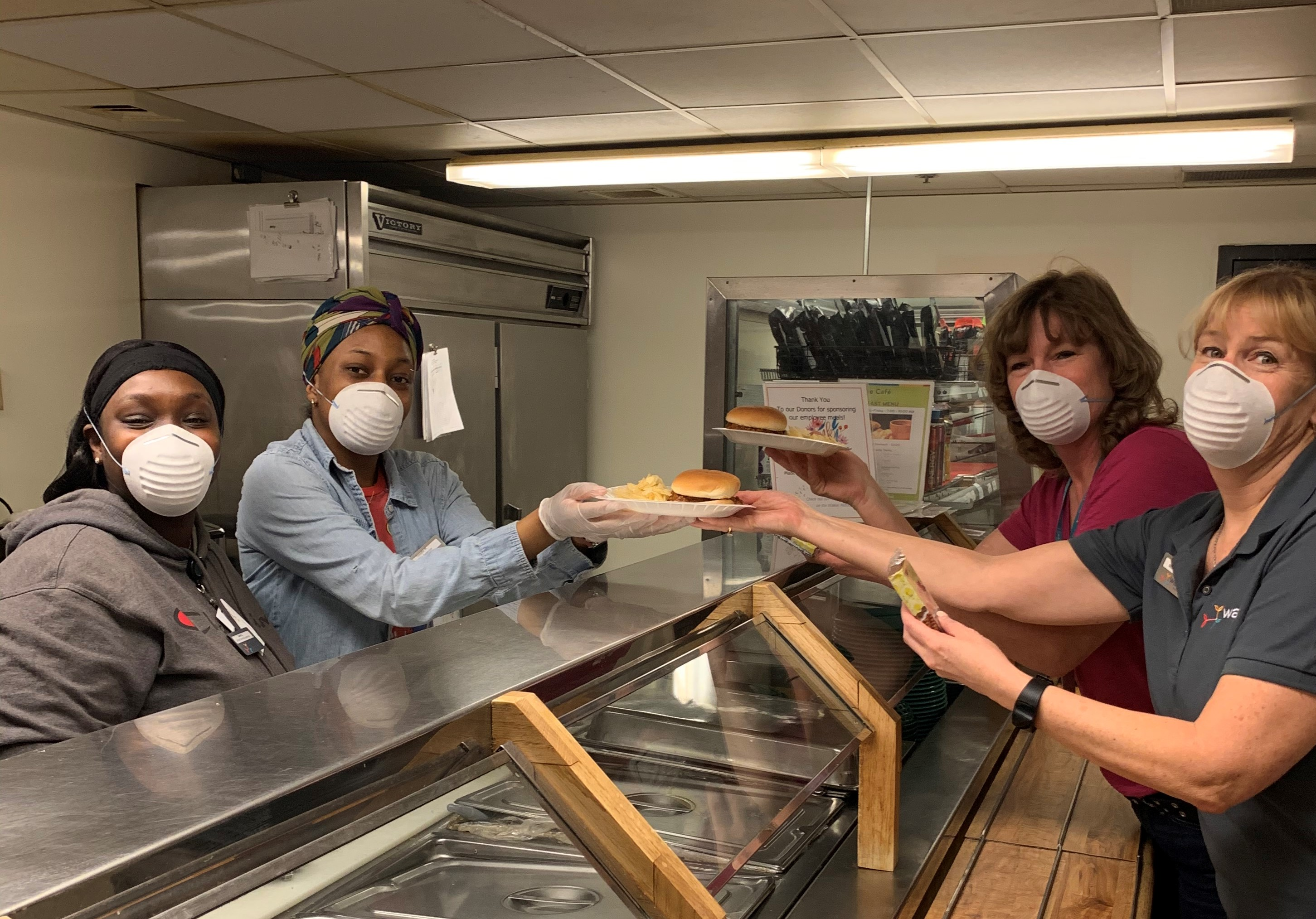 Chefs and donors partner to care for team members