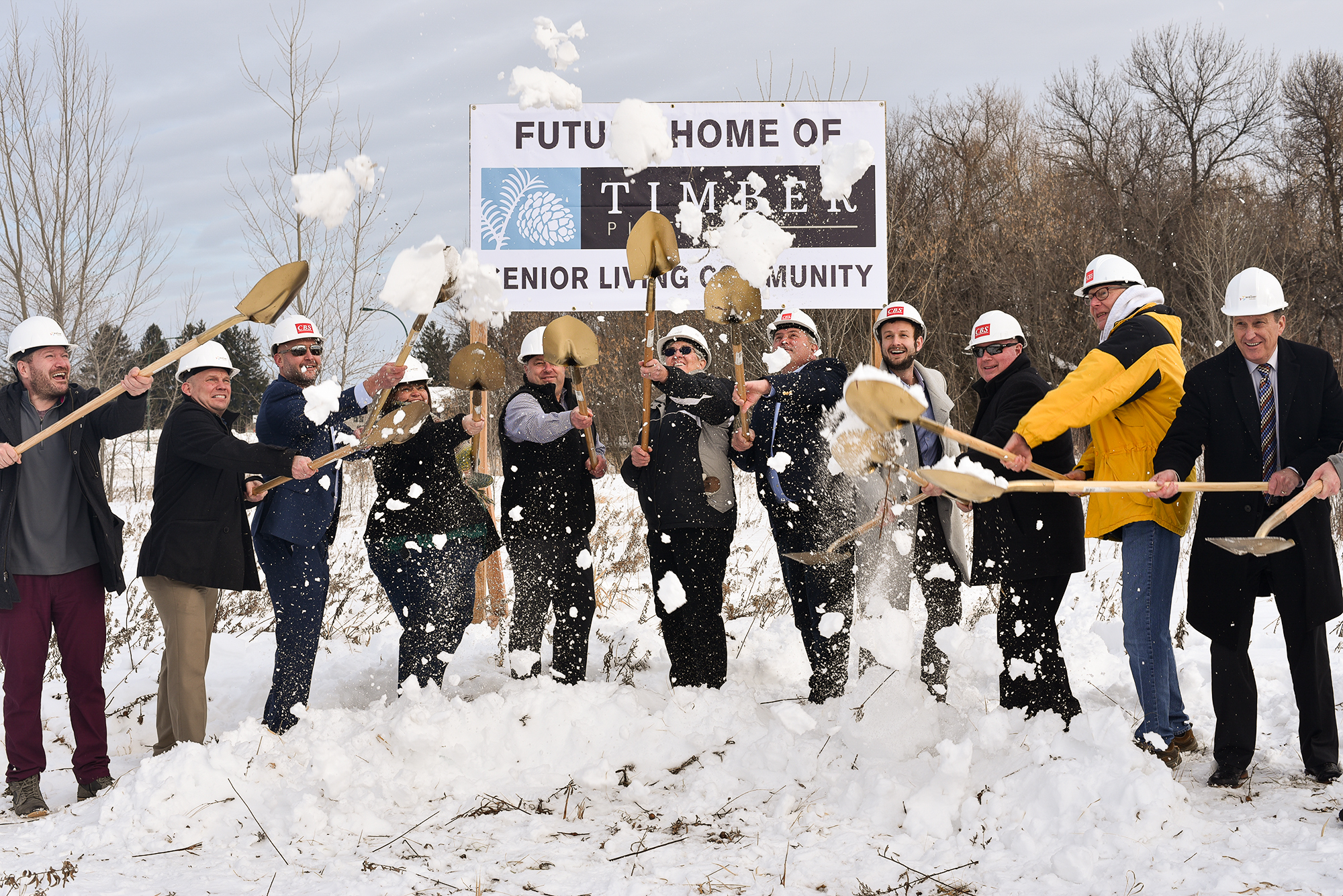 Timber Pines senior community broke ground